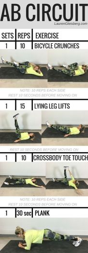 Work It Out Ab Circuit