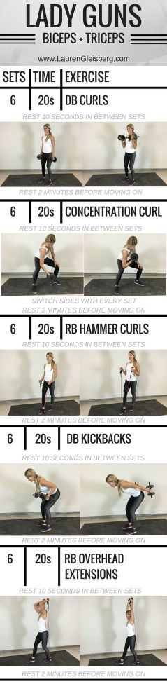 Work It Out Biceps Triceps